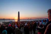 Easter Sunrise Mass - Castle Island 2015
